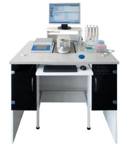 Workstation for pipette calibration